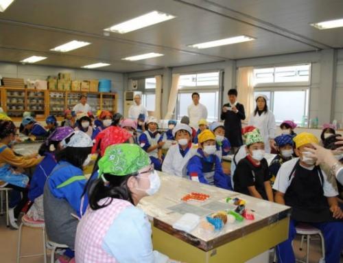 岩手県の大槌小学校にて開催しました!